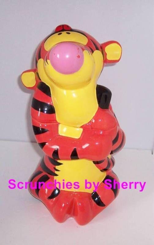 Disney Winnie Pooh Tigger Cookies Ceramic Cookie Jar