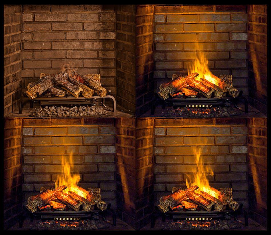 Surprising Dimplex 28 In Opti Myst Electric Fireplace Log Set Dlgm29 Interior Design Ideas Inamawefileorg