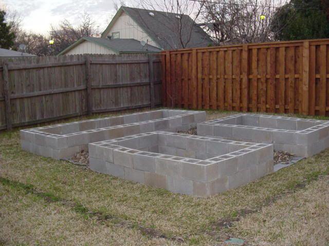 Best 25 Cinder Block Garden Ideas On Pinterest Cinder