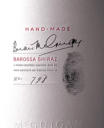 A Favorite Wine Label Simple Sophistication Uses Good Line Space Beautiful Hand Detail