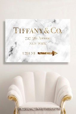Road Sign Wall Decor Captivating Jewelry Road Sign Glam Canvas Wall Art  Dream House  Pinterest Inspiration Design