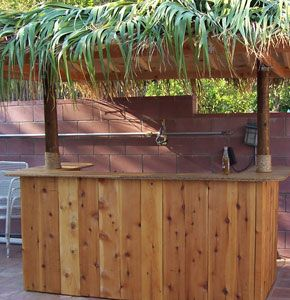 build your own tiki bar