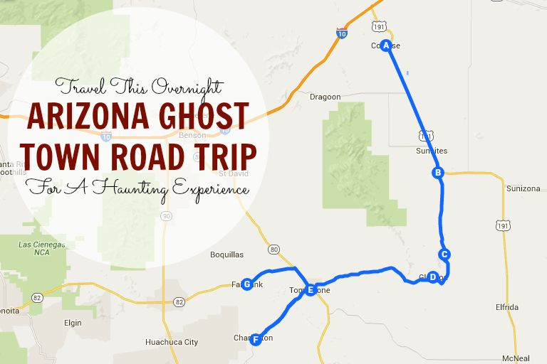 Ruby Arizona Map.This Haunting Road Trip Through Arizona Ghost Towns Is One You Won T
