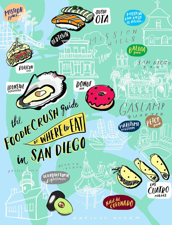 Food Bloggers' Guide of Where to Eat in San Diego | foodiecrush.com