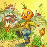 My Favourite Book In Childhood The Adventures Of Cipollino By