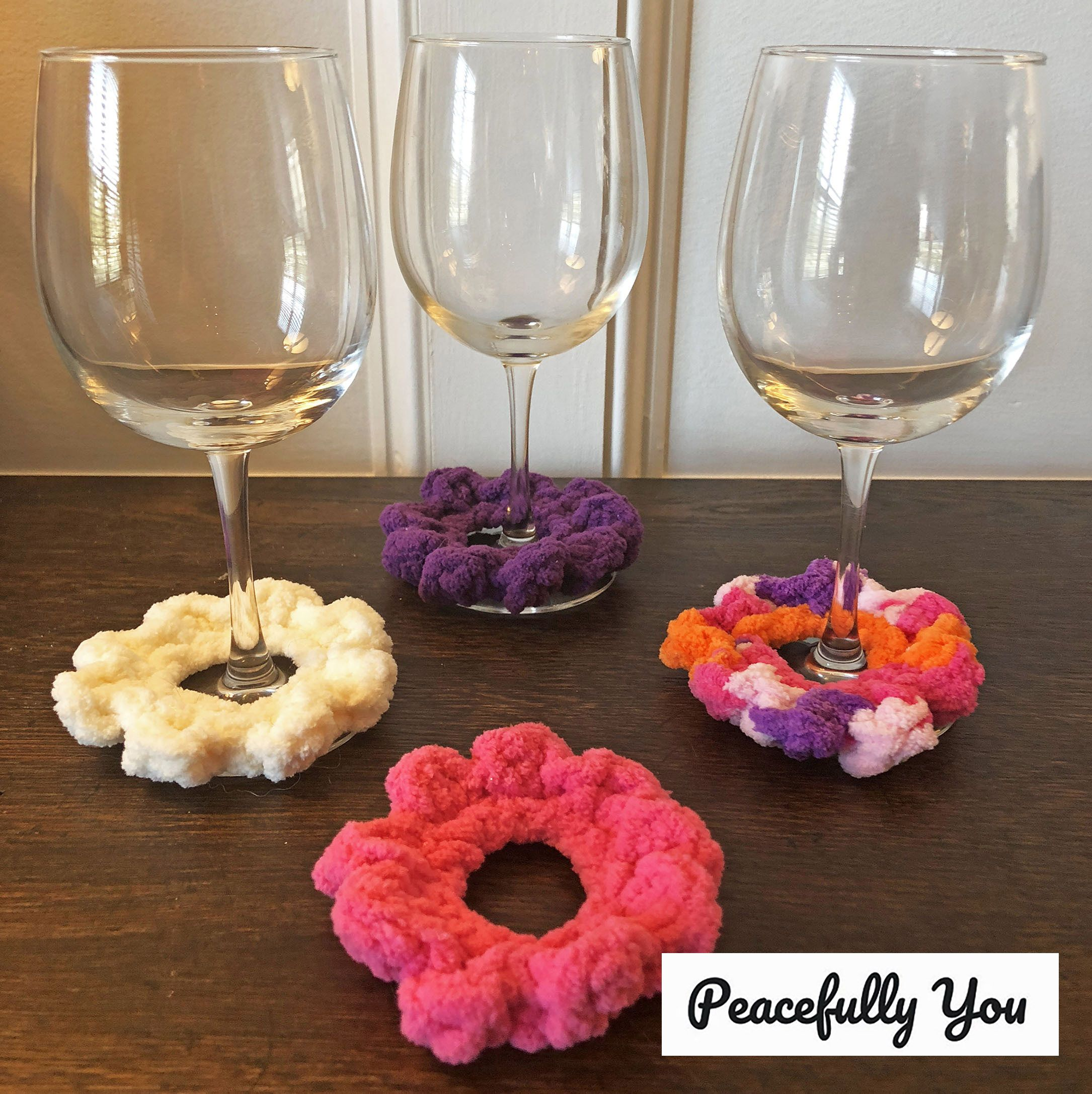 Pin By Peacefully You On Peacefully You At Home With Images Wine Glass Markers Wine Glass Wine Glass Charms