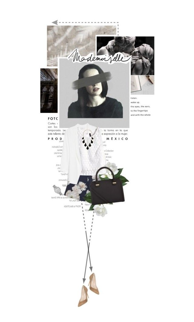 """7.26 The Survivor"" by monalisas-and-madhatters ❤ liked on Polyvore featuring MANGO, Finders Keepers, H&M, Kendra Scott, Giorgio Armani, Victoria Beckham and Michael Kors"