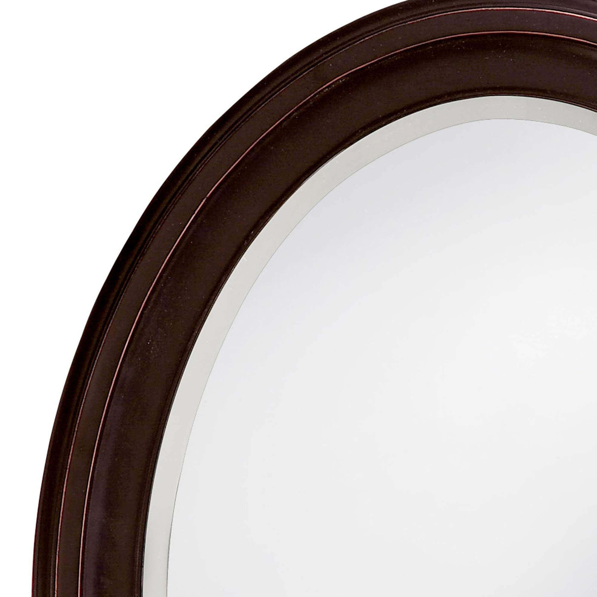 Howard Elliott Rectangular Wood Framed Wall Vanity