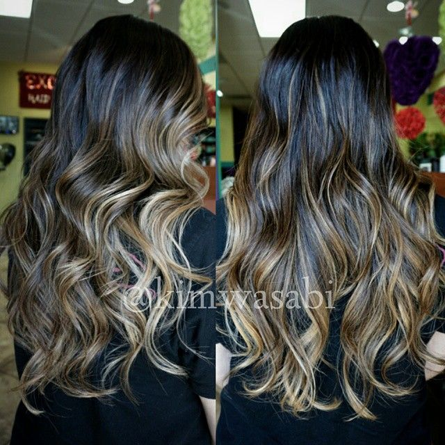 Balayage Hilighlights Color Haircut And Style By Kim Kimwasabi