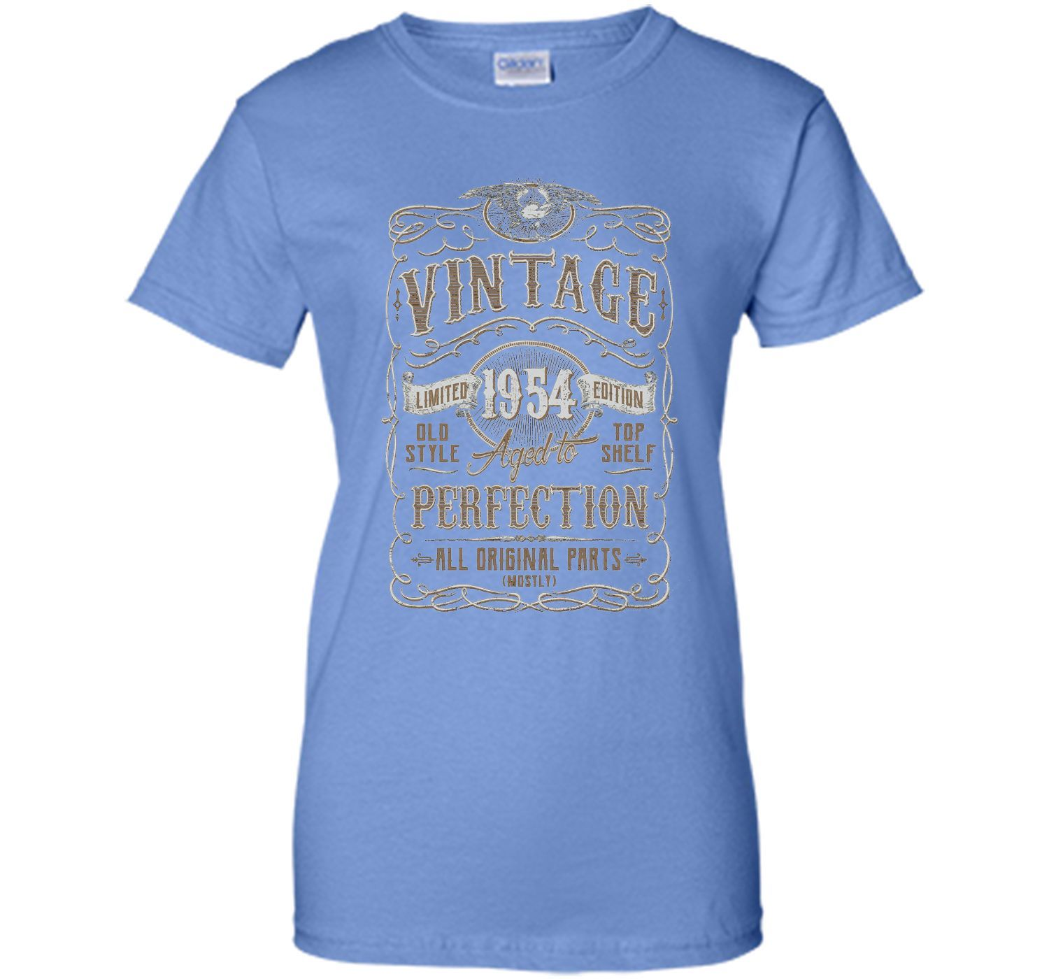Vintage Made In 1954 Birthday Gift Idea T Shirt