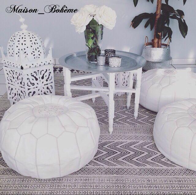 boutique en ligne de d coration ethnique chic offrez vous un pouf fabriqu. Black Bedroom Furniture Sets. Home Design Ideas