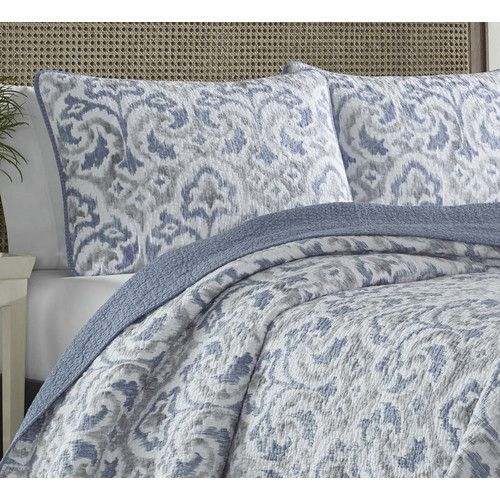 Cape Verde Reversible Quilt Set Bed Linens Luxury Bedding Sets Quilt Sets Bedding