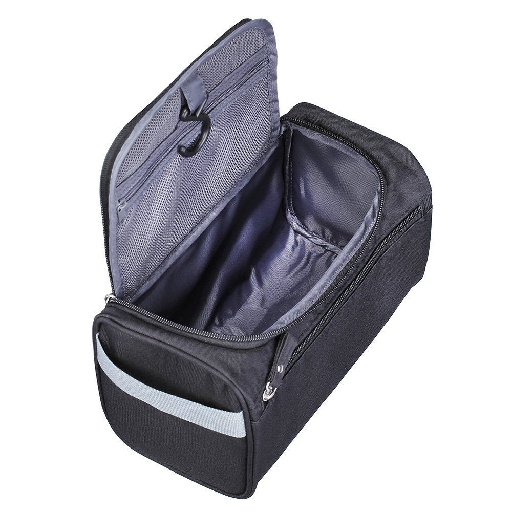 207be0f165 Lucky Rain Hanging Travel Toiletry Bag for Women and Men Travel Shower Bag  Shaving Dopp Kits Organizer Black    Learn more by visiting the image link.