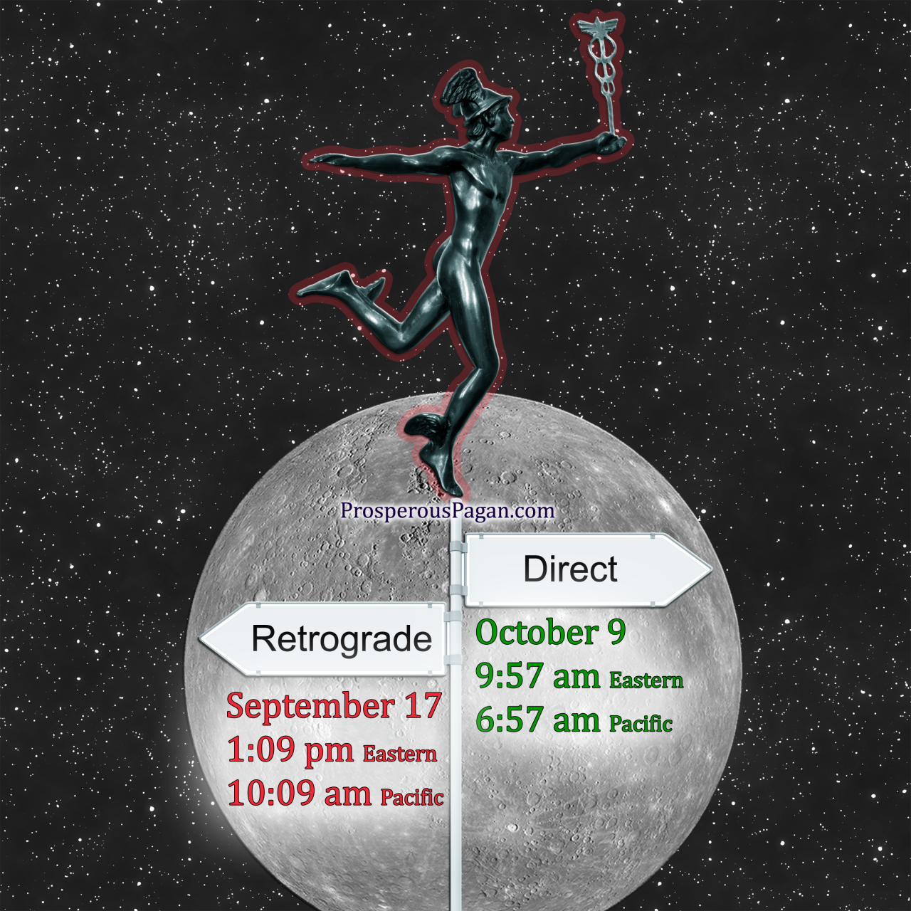 Time to batten down the hatches. Here is an article explaining what that Mercury Retrograde means and what you can expect. http://treeoflifestore.com/mercury_retrograde.html