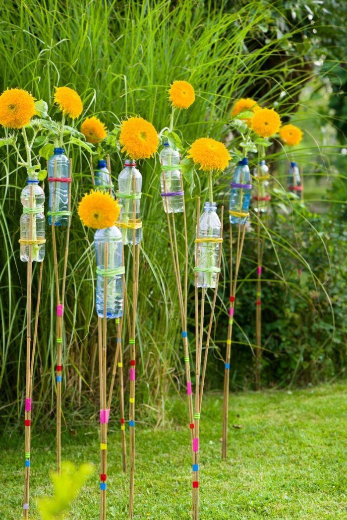 1001 inspirations pour une dcoration de jardin faire soi mme