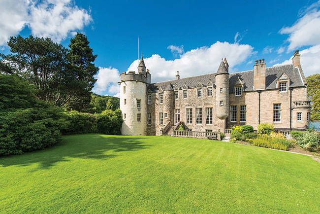 7 Magical Castles That Are Actually For Sale And You Can Buy Scottish Castles Stately Home Castle