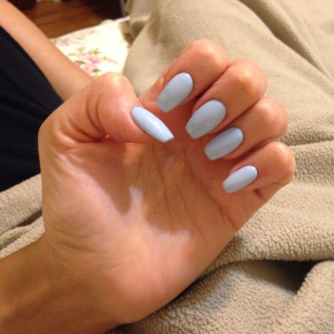 New Nail Shape & Color. #love | My Pins. | Pinterest