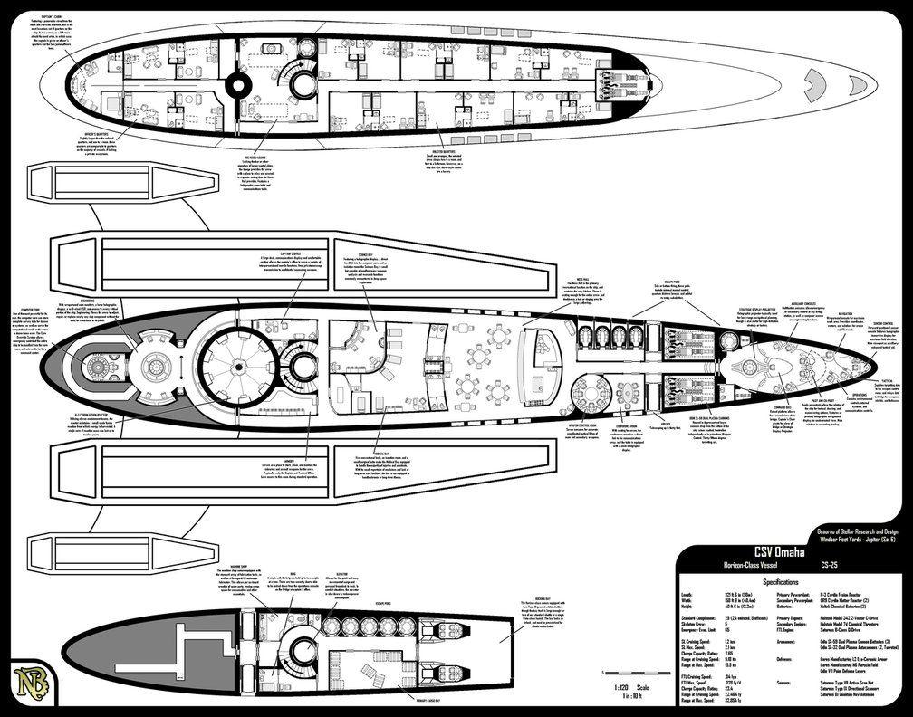 mass effect ship schematics