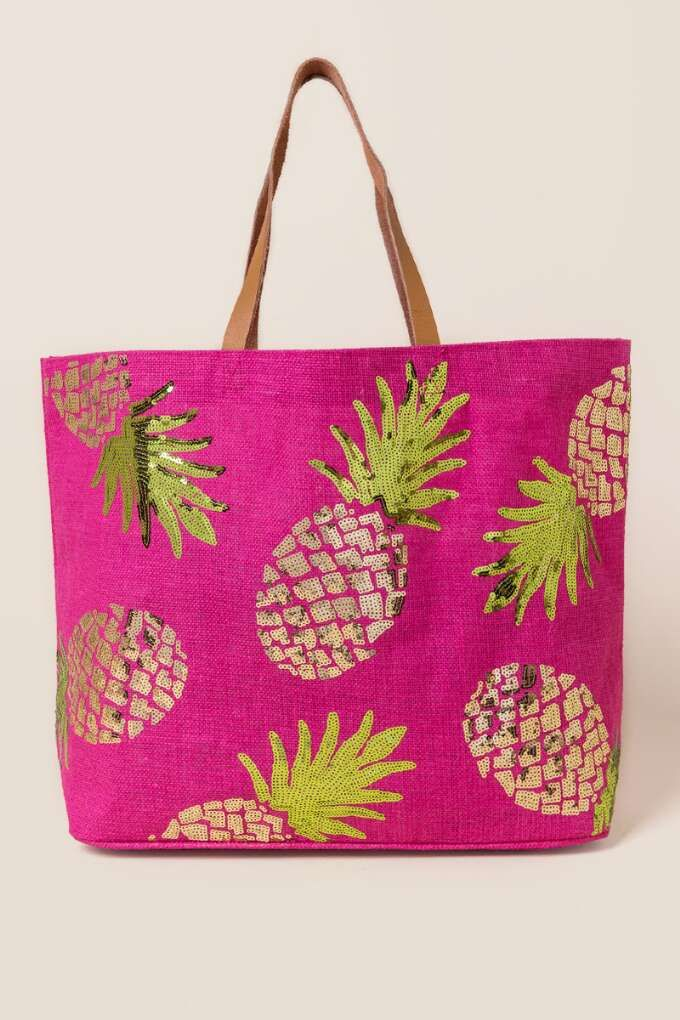 VIDA Tote Bag - In The Pink by VIDA