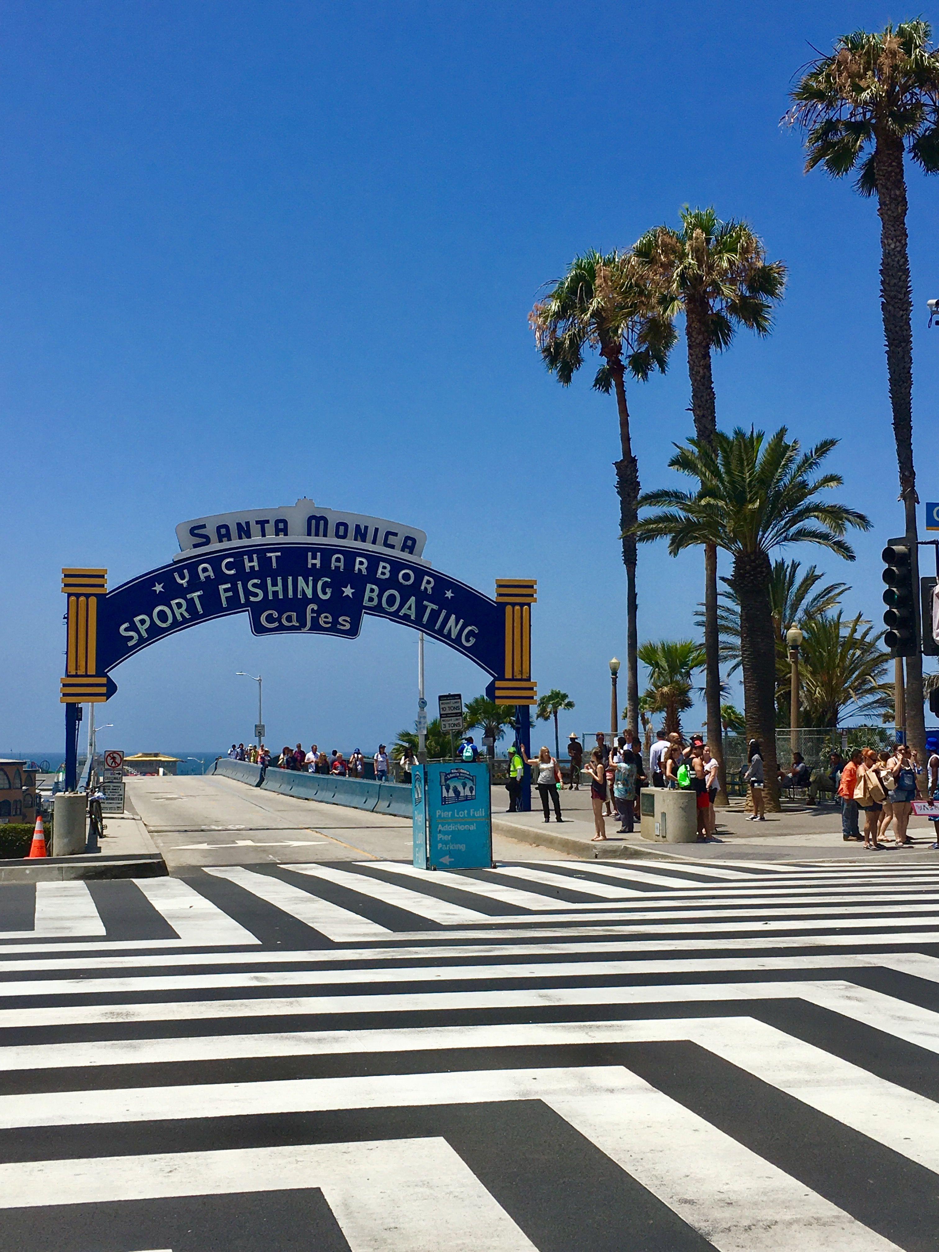 California, Santa Monica California travel, Los angeles