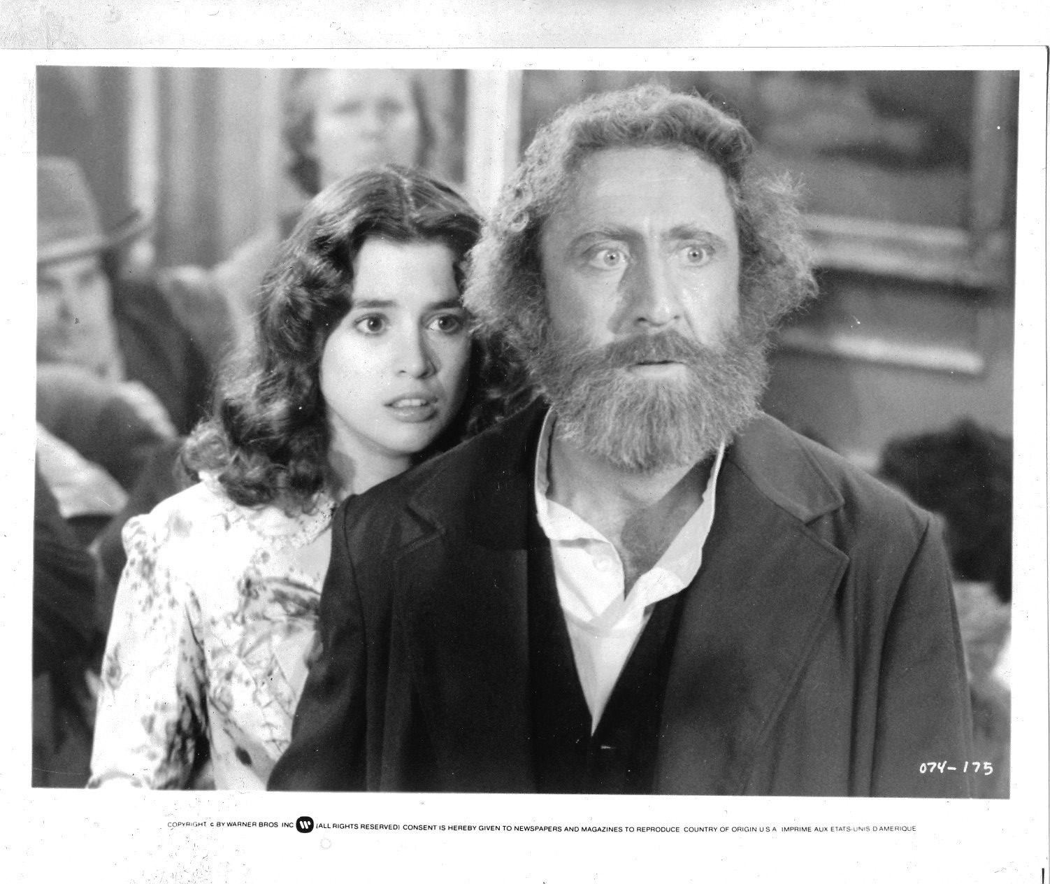 Fabulous hollywood memories a bearded gene wilder in the frisco kid