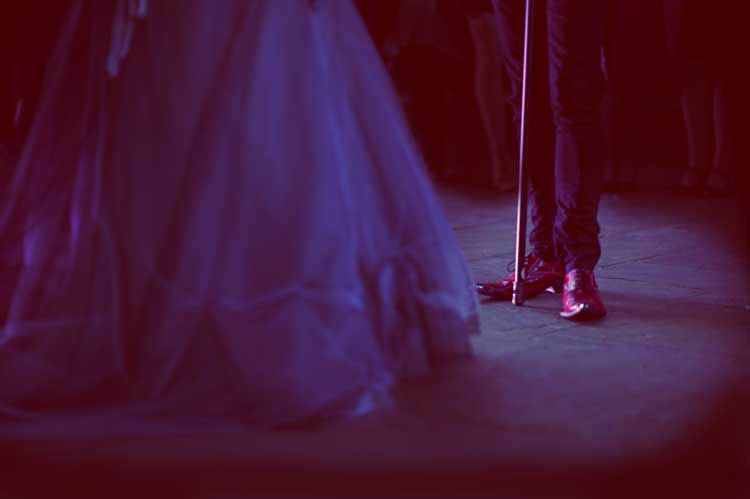 Rachel & Dale's Fabulously Theatrical Goth Wedding