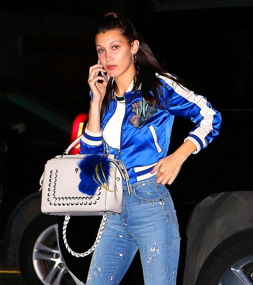 The Many Bags Of Bella Hadid
