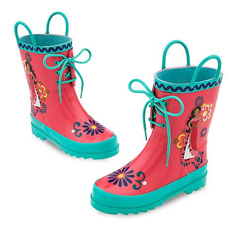 Elena of Avalor Rain Boots for Kids | Puddles & Play | Pinterest ...
