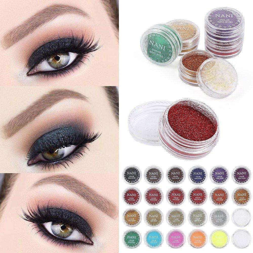 Colourful Dry Glitter Eyeshadow Palette Glitter eye