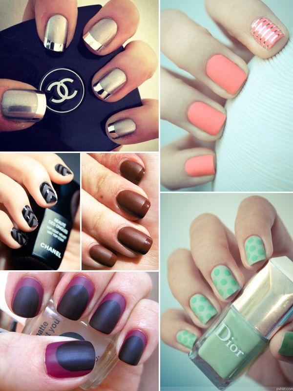 New Tutorial: DIY Matte Nails | Matte nails, Matte nail polish and ...