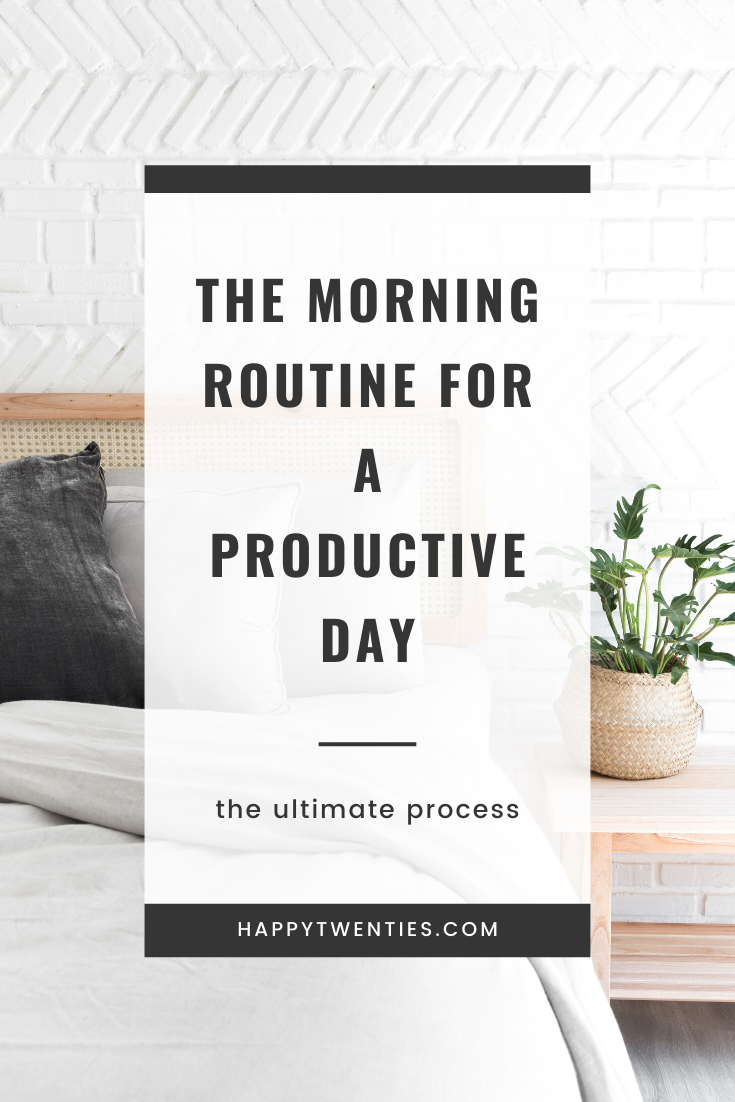 THE Morning Routine for a Productive Day #morningroutine