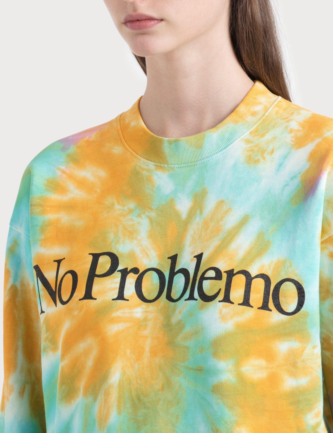 Aries No Problemo Tie Dye Sweatshirt Hbx Tie Dye Sweatshirt Tie Dye Sweatshirts [ 1820 x 1400 Pixel ]