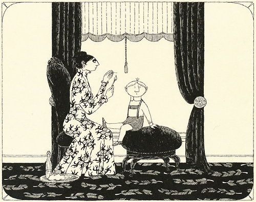 Donald Has A Difficulty By Edward Gorey Art Paintings In 2019