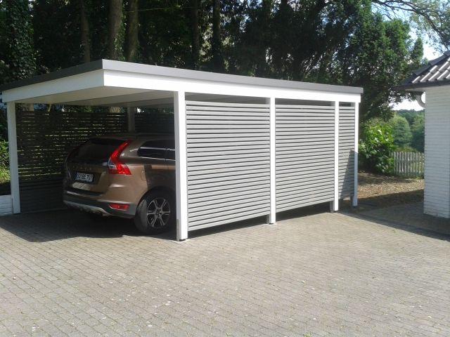 moderner carport yard ideas pinterest garage abri voiture et maison. Black Bedroom Furniture Sets. Home Design Ideas