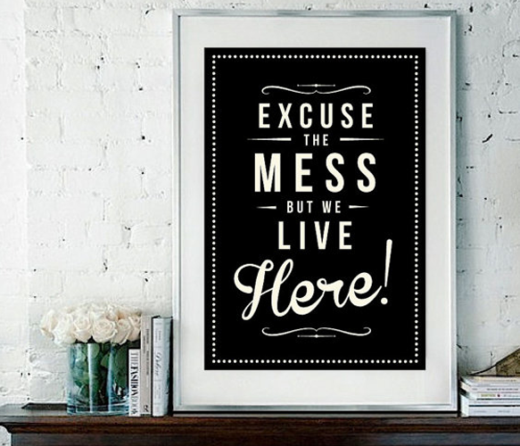 Inspirational Quote Giclee Art