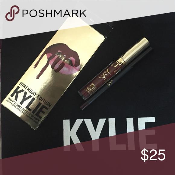Birthday Leo LipKit Kylie lip kit, Lip kit, Kylie lips