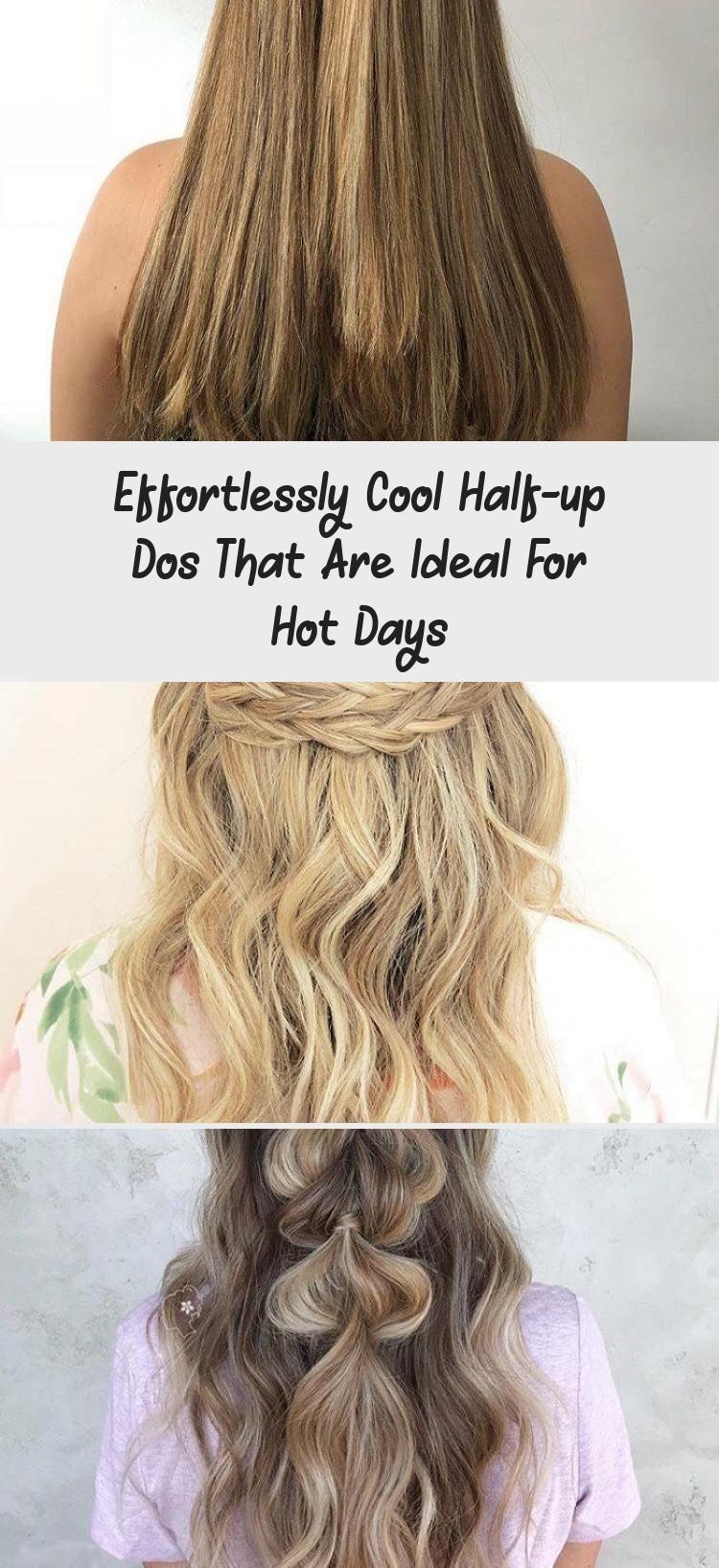 Mühelos coole Half-up-Dos, die ideal für heiße Tage sind – Frisur