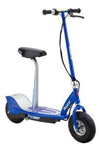Buy Razor E300s Seated Electric Motorized Scooter Blue Ringards