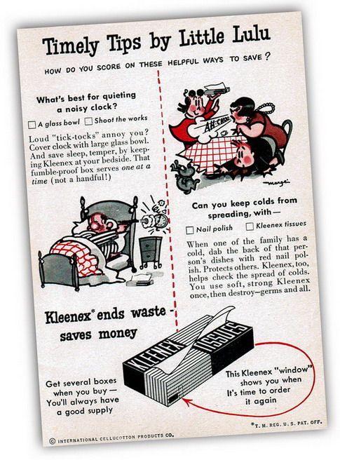 Little Lulu Kleenex Ad
