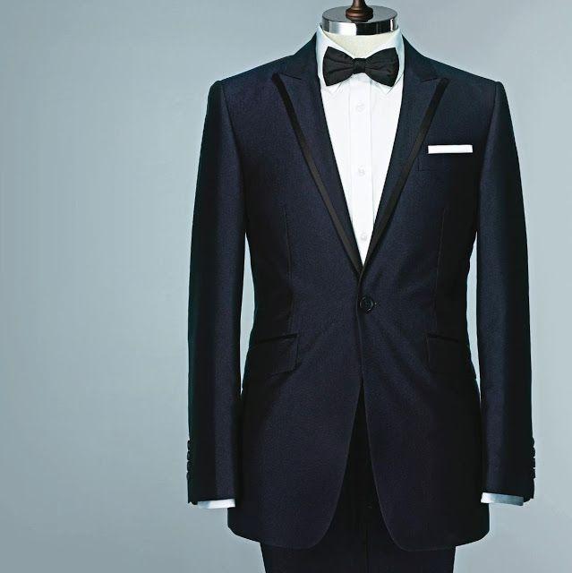 navy blue tux | Wedding | Pinterest | Blue tux, Wedding and Weddings