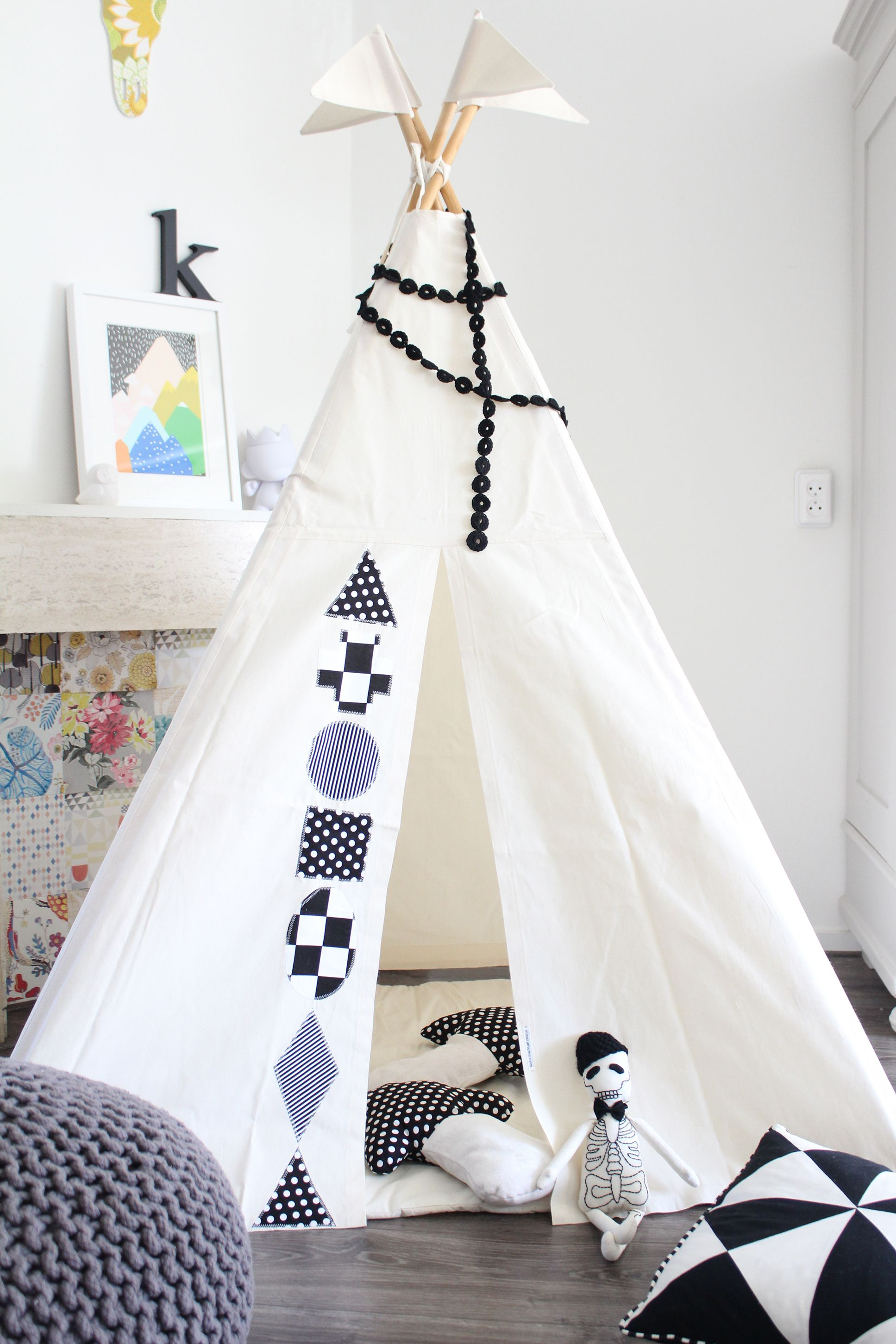 Kids Teepee tent by Moozle on SALE in their