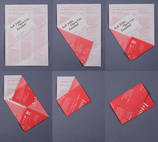 Jadore Lidee De La Carte Visite Dans Une Mini Enveloppe Faite Avec Simple Notice