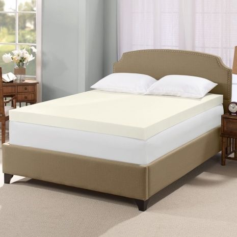 Pillow Top Mattress Covers Inspiration Four Inch Memory Foam Mattress Topper  Mattress Ideas  Pinterest