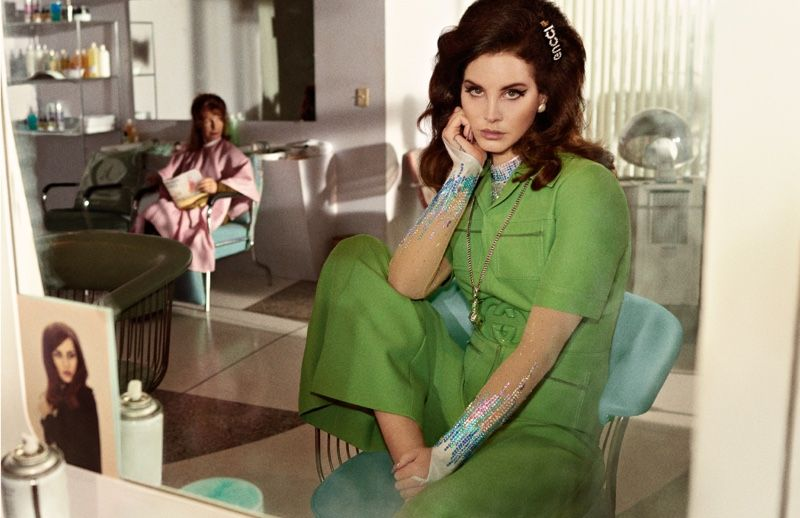 51e75ed419816 Gucci enlists Lana Del Rey as the face of its new Guilty pour Femme scent.  The singer joins actor Jared Leto in a print campaign and film captured by  Glen ...