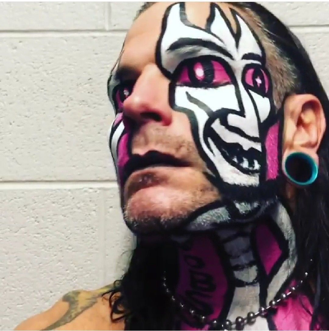 Pin by Kingofkings413 on AEW / WWE / NXT / INDEPENDENT ...Jeff Hardy Wrestlemania 25 Face Paint