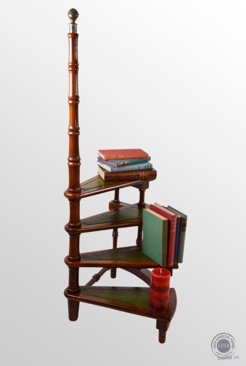 Phenomenal Gorgeous Antique Yew Library Steps Circular Step Ladder Ibusinesslaw Wood Chair Design Ideas Ibusinesslaworg