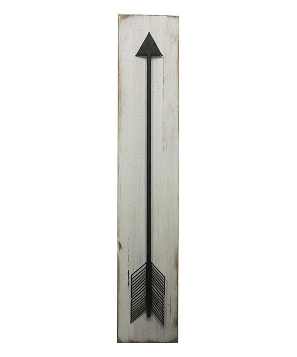 Take a look at this sagebrook home white arrow wall art today big