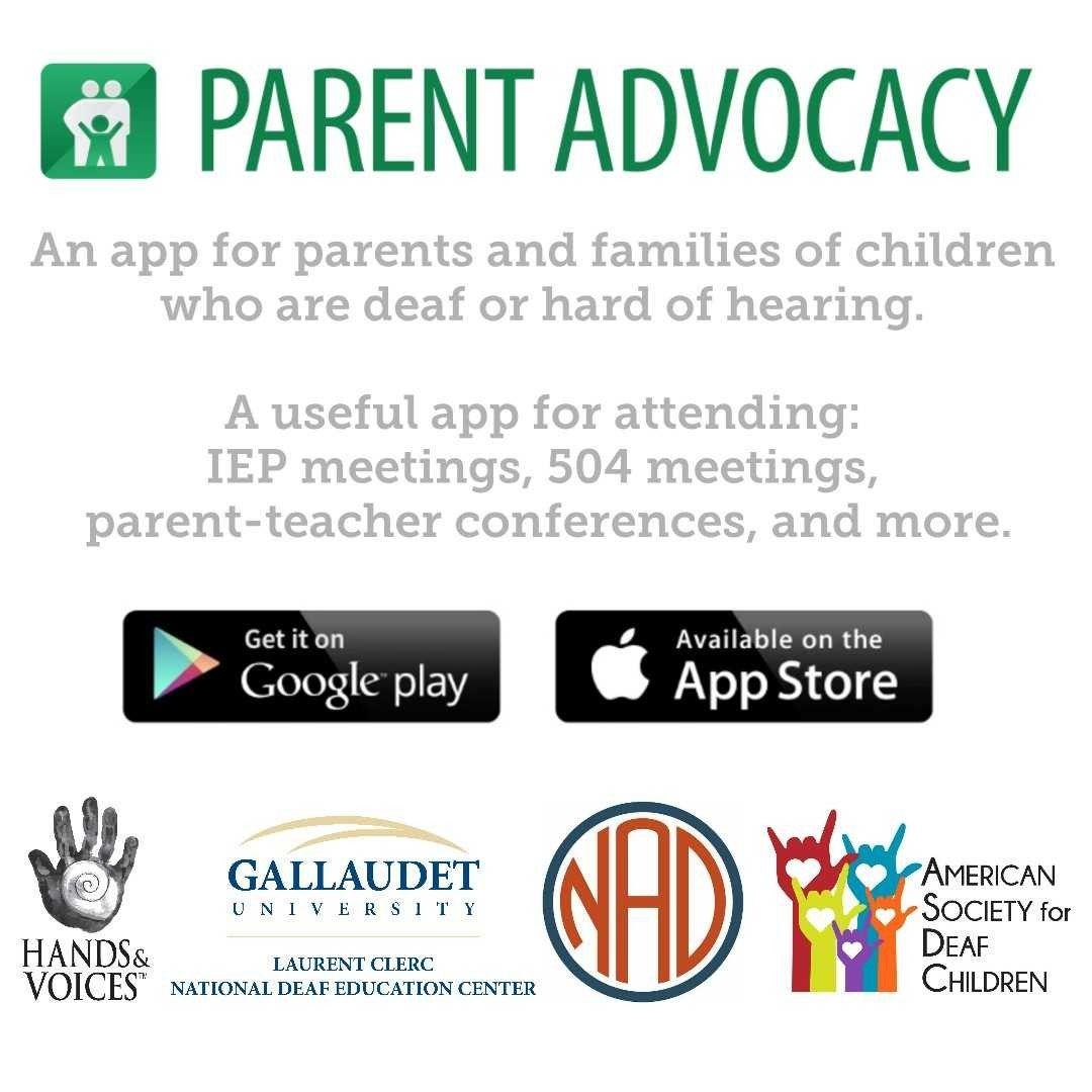 Parent Advocacy Dhh App