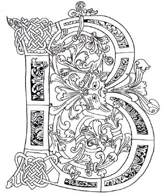 retro capital letters - Google Search Coloring Pages Pinterest - best of medieval alphabet coloring pages