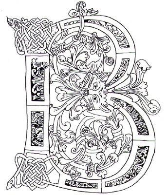 Celtic Zentangles Google Search Illuminated Letters Celtic Lettering Alphabet